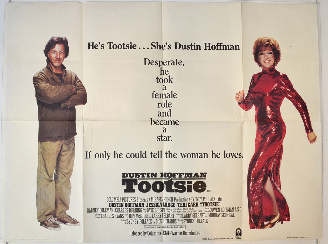 Tootsie : Cinema Quad Movie Poster