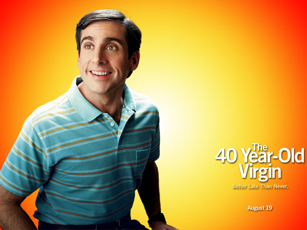 Image result for The 40 Year Old Virgin