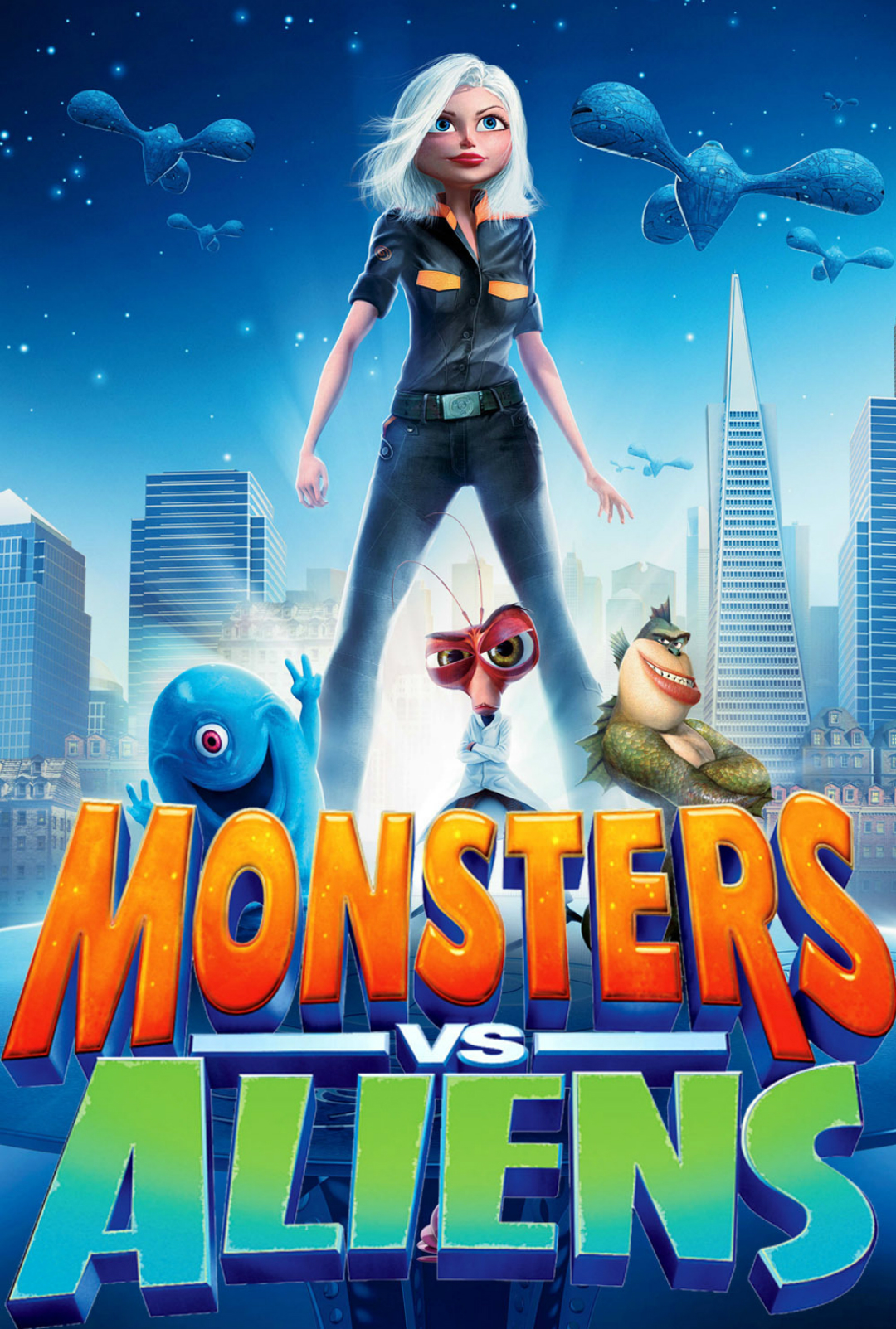 Monsters vs. Aliens Re...