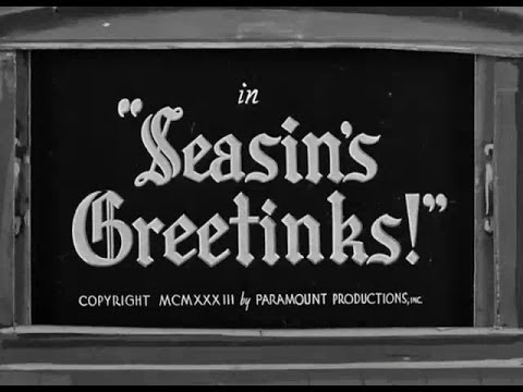 Seasin's Greetinks!