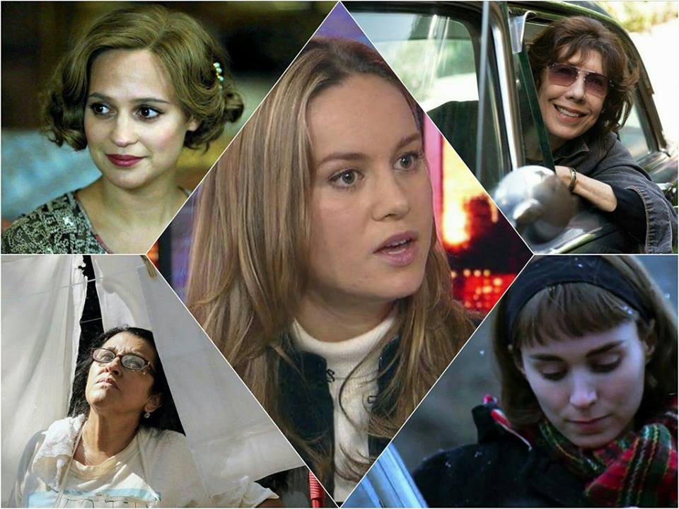 Top Five Female Film Performances of 2015
