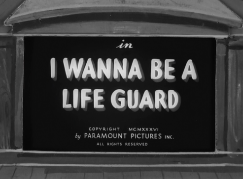 I Wanna Be a Life Guard Review