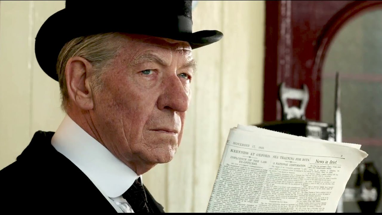 Ian McKellen for Mr. Holmes