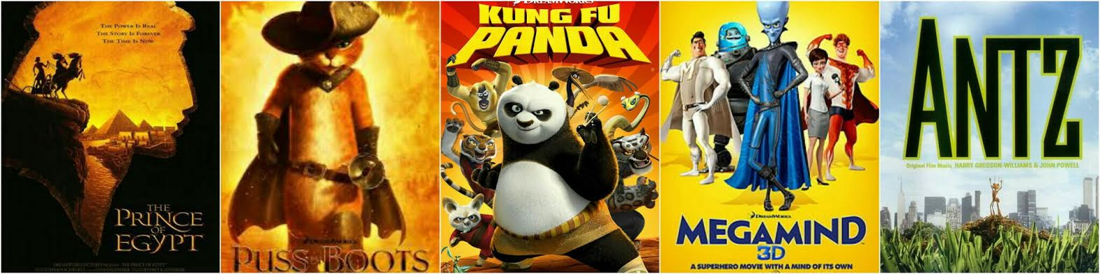 Top Ten DreamWorks Animated Films