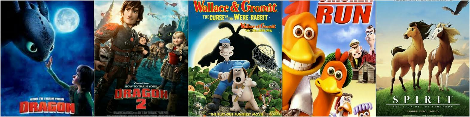 Top Ten Dreamworks Animated Films .