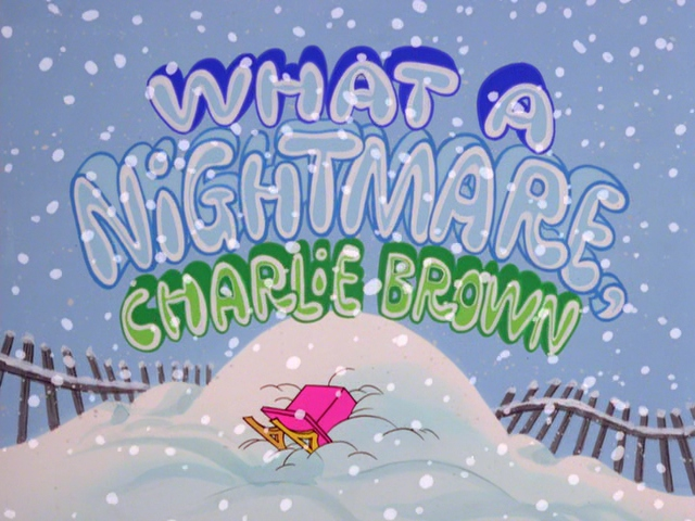 What a Nightmare, Charlie Brown! Review