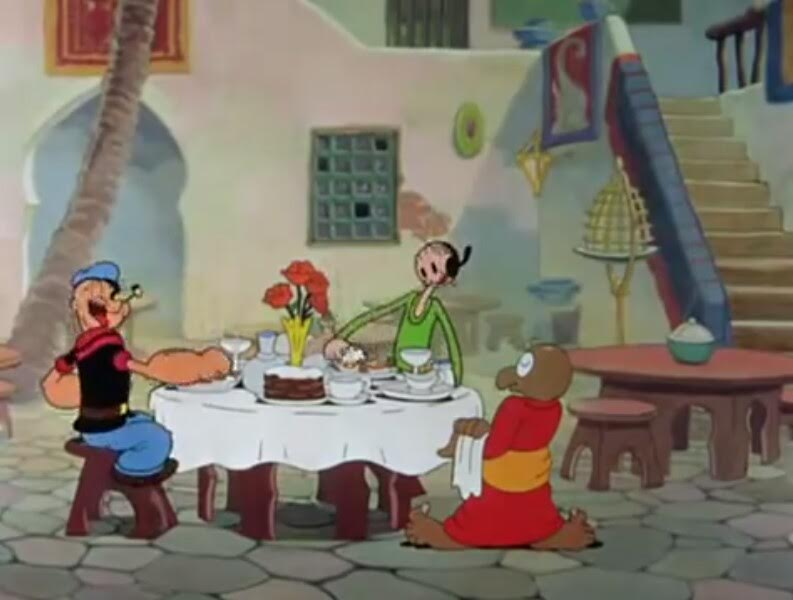 Popeye the Sailor Meets Ali Baba's Forty Thieves Review