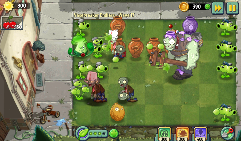 Plants vs. Zombies 2 Video Game Review