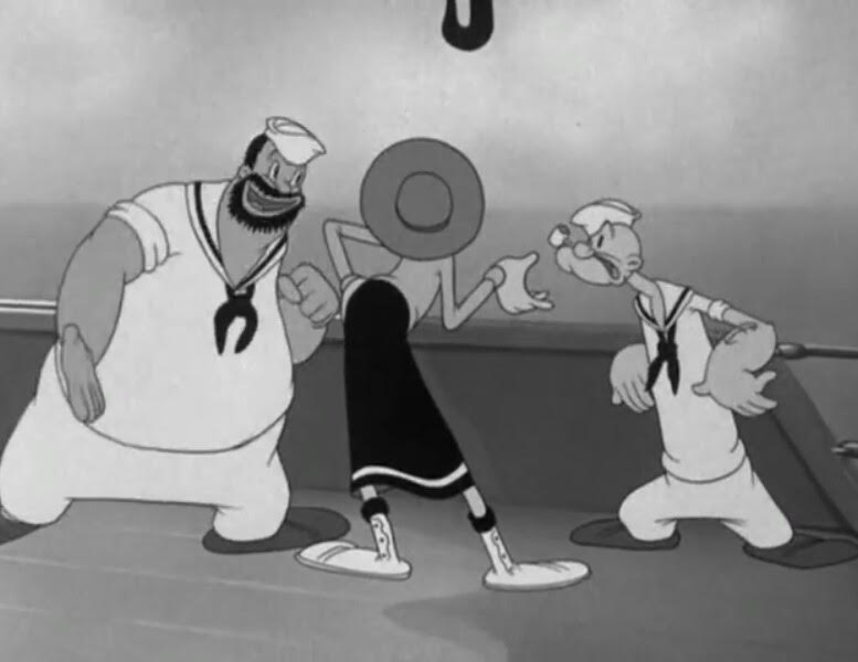 Olive Oyl and Water Don't Mix Review