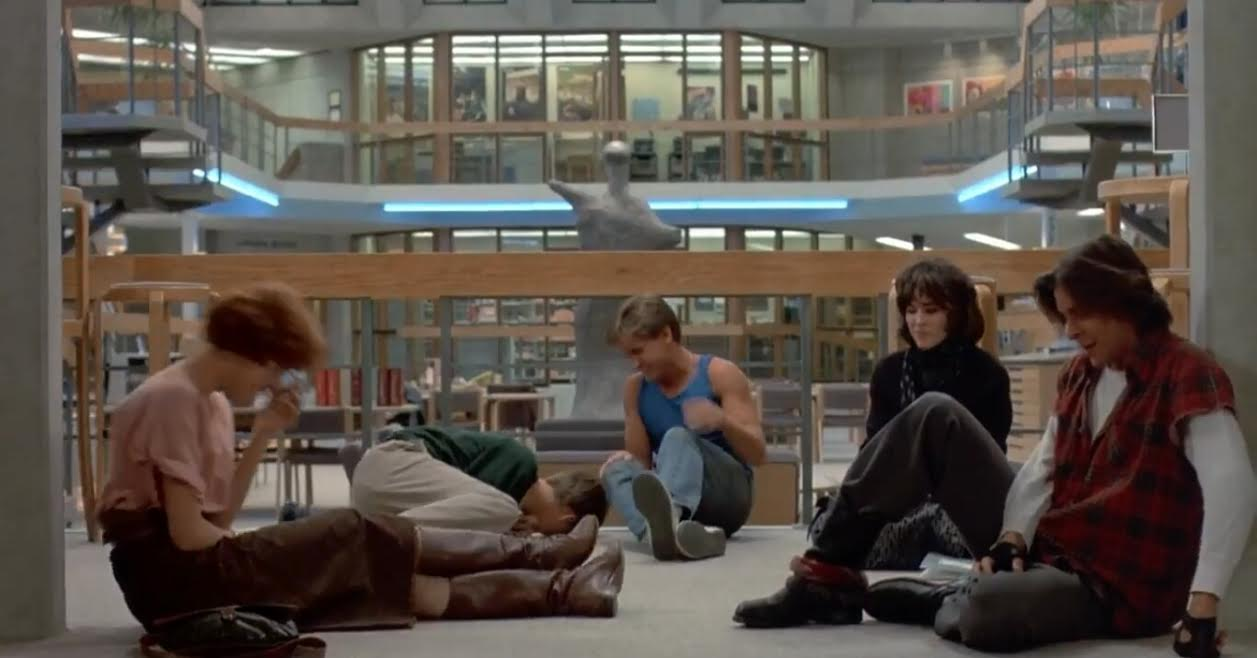 conflict in the breakfast club movie Director: john hughes starring: anthony michael hall, molly ringwald, emilio estevez and others.