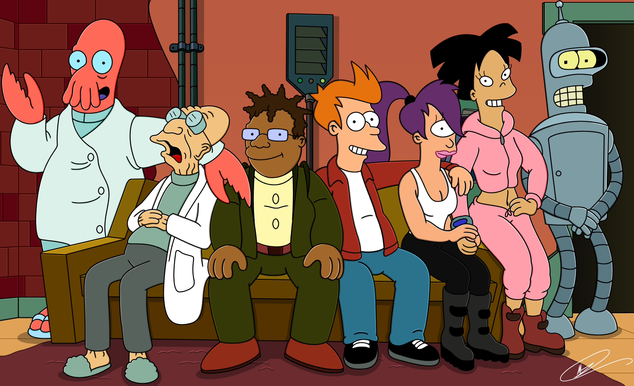 Top Ten Futurama Characters