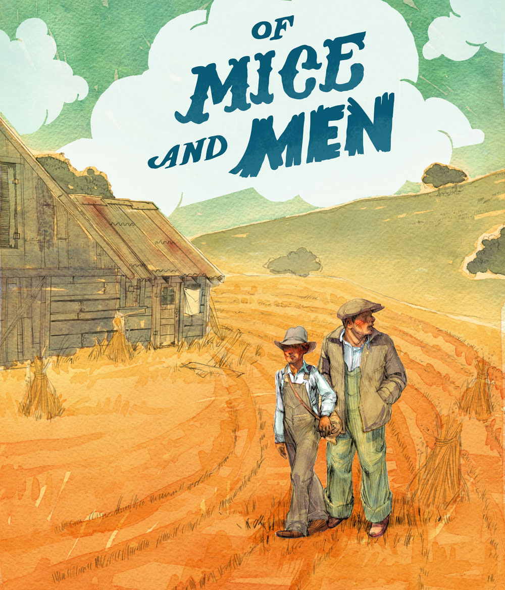 an analysis of the characters of george and lenny in the novel of mice and men by john steinbeck Main characters of mice and men by john steinbeck when you import any of the activities below, you can choose to share these ready-made characters with.