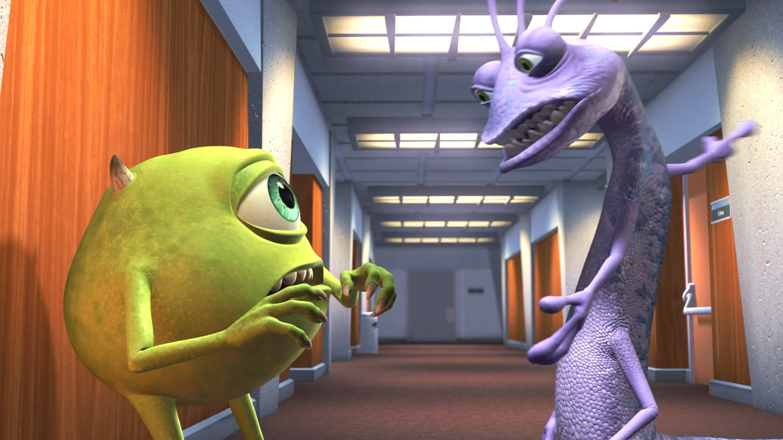 my movie review of monster inc Monsters, inc is a 2001 animated comedy film directed by pete  is only minor  and it does not affect my enjoyment of the movie all too much.