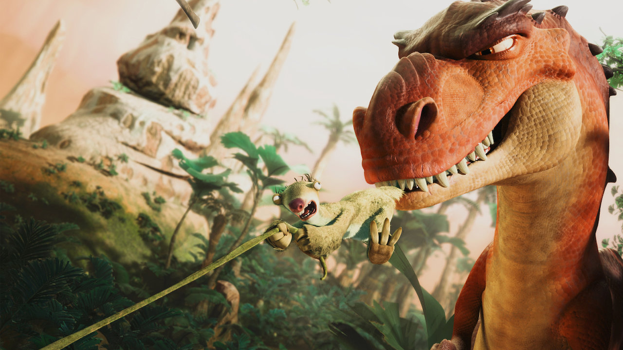 Ice Age Dawn Of The Dinosaurs Movie Review Movie Reviews Simbasible